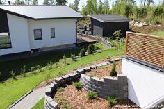 Landscape ideas in hillside in Housing Fair Finland 2013