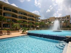 Love this pool at Adagio Resort in Blue Mountain Beach, FL