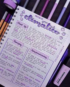 Bullet Journal School, Bullet Journal Banner, Bullet Journal Notes, Bullet Journal Writing, Bullet Journal Ideas Pages, Bullet Journal Inspiration, Life Hacks For School, School Study Tips, Pretty Notes