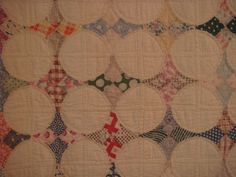 quilts fromthe 1800's | Hexgons' from the late 1800's:
