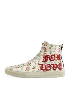 d68a4199374 Gucci Major Blind For Love High Top Sneaker
