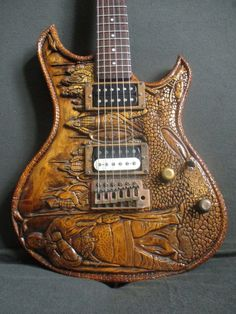 custom guitars This guitar is one of a kind. When you go on stage with it, you will not only amaze everyone with your playing technique, but also show the public an exclusive beautiful Guitar Painting, Guitar Art, Music Guitar, Cool Guitar, Custom Electric Guitars, Custom Guitars, Grand Prince, Guitar Reviews, Machine Head
