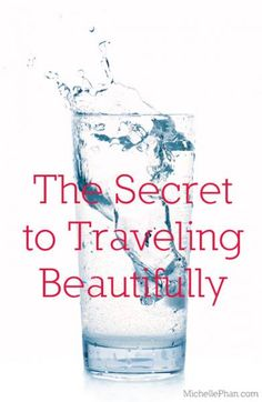 My must have skincare travel tips - always travel beautifully! #beauty #travel