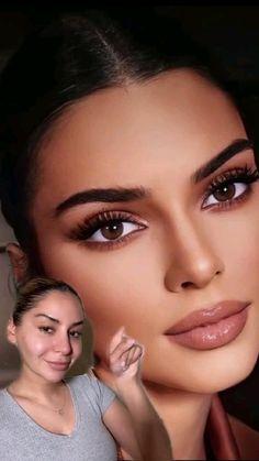 Nude Makeup, Flawless Makeup, Eyebrow Makeup, Skin Makeup, Makeup Art, Makeup Tips, Simple Makeup, Natural Makeup, Makeup Looks Tutorial