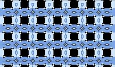The horizontal dark blue lines in this image look slanted, but they're actually completely parallel.