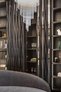 DIY home decor Very handy resource of super tips for that fab elegant home decor luxury modern Tip number shared on 20181129 Office Interior Design, Luxury Interior Design, Office Interiors, Interior Design Inspiration, Modern Interior, Interior Stylist, Kitchen Interior, Shelf Design, Wall Design