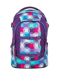 aed308ba68a96 Satch Schulrucksack Pack Hurly Pearly 9C0 bunte punkte