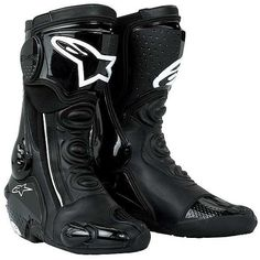 TCX S-SPEED SPORT BOOTS MOTORCYCLE BIKE SPORTS TOURING BREATHABLE BLACK GRAPHITE