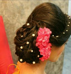 Trendy hairstyles party side hairdos - New Site Hipster Hairstyles, Indian Hairstyles, Bride Hairstyles, Hairstyles Haircuts, Hairdos, Side Bun Hairstyles, Stylish Hairstyles, Hairstyle Ideas, Bridal Updo