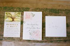 Becca + Matt : Alys Beach FL wedding invites