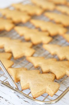 Bolacha de natal (gingerbread) | Flamboesa Christmas Snacks, Xmas Food, Simply Recipes, Sweet Recipes, Delicious Desserts, Yummy Food, Christmas Hot Chocolate, Christmas Biscuits, Tasty Videos