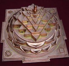 sri yantra pyramid