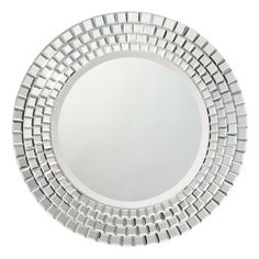 "Kichler 78167 Glimmer 30"" Diameter Circular Mirror - from Build.com #ExquisitelyModernKichlerSweepstakes"