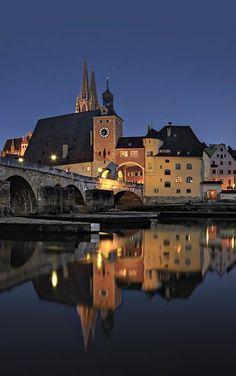 Stadtportal - Regensburg, Bavaria, Germany | by Harald Nachtmann http://www.harald-nachtmann.de