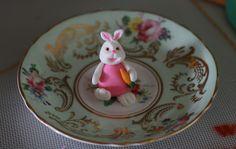 Fondant Bunny Rabbit for cupcakes