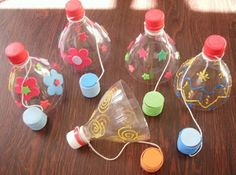 DICAS PEDAGÓGICAS: Mais brinquedos de sucata