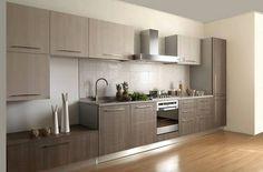 Вариант создать интерьер кухни в сдержанных, пастельных тонах, что однозначно вдохновят.