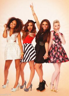 """shout out to Little Mix for being a kickass diverse girlgroup who are talented and gorgeous in individual and unique ways and make a healthy variety of song topics from songs about boys to songs about loving yourself to songs about friendship to songs about sticking up for yourself while wearing whatever they want to wear and preaching that style is for yourself not for other people""- not my words but I completely agree."