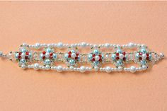 Like this bracelet? LC.Pandahall.com will release the tutorial soon.
