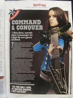 First printed press, Metal Hammer UK, January 2012.