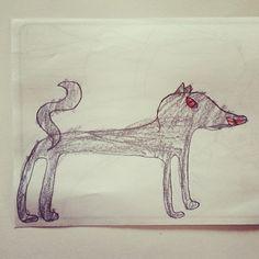 """Wolf #kiddesigners"" Photo taken by @kalonstudios on Instagram (02/19/2014)"