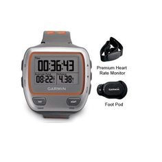 """(CLICK IMAGE TWICE FOR DETAILS AND PRICING) Garmin Forerunner 310XT Watch with HRM and FP Forerunner 310XT w_ Heart. """"Garmin Forerunner 310XT, Multisport Pro Plus Brand New Includes One Year Warranty, The Garmin Forerunner 310XT-HRM is the ultimate GPS-enabled trainer. Water-resistant up to 50m, this model tracks bike and run data and s.... See More Runners at http://www.ourgreatshop.com/Runners-C325.aspx"""