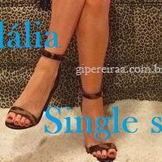 Sandália single strap!