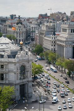 Calle de Alcalá - Madrid, Spain