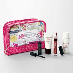 So your guy surprised you with a trip to Paris—you wish, right? If that is the case, just grab one of these fun sets and you're off!  bareMinerals Hello Jetsetter Kit, $30, ulta.com