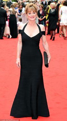 BAFTA Downton Abbey Tribute 2015   Samantha Bond (Lady Rosamund)