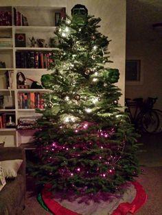 My buddy's christmas tree was exposed to gamma radiation - Imgur