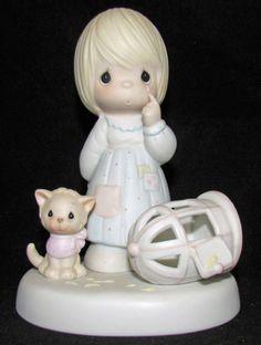 Precious Moments Figurine MIB 100226 The Lord Giveth & Lord Taketh Away 1st mark