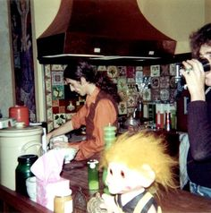 George shared by Chris O'Dell. Taken while she was staying at Friar Park circa 1970.