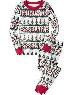 Merry Trees Pajamas from hanna andersson
