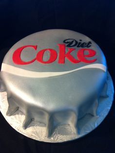 Account Executive Lauren Shepard is a Queen in the kitchen. Yes, that's a cake. Repin if Diet Coke with a Diet Coke cake sounds like the perfect afternoon (or anytime) snack.