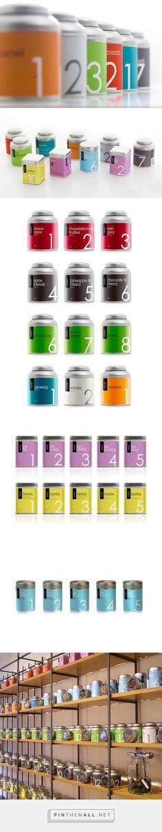 TASTE3 #Tea #Packaging designed by Elena Filippou Design - http://www.packagingoftheworld.com/2015/03/taste3-tea-packaging.html