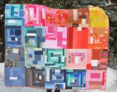 Slab quilt for Calgary by shecanquilt, via Flickr