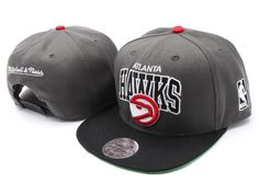 NBA Atlanta Hawks Snapback Hats Caps Mitchell And Ness 2077! Only $8.90USD