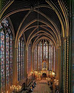 sainte chapelle pictures | Sainte-Chapelle: arca cheia de tesouros