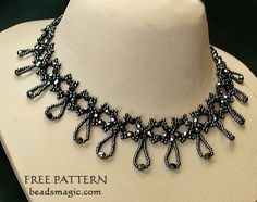Free pattern for necklace Nova | Beads Magic | Bloglovin'