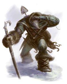 Half Orc Mountain Wanderer by ScottPurdy on DeviantArt