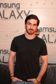 He looks so sweet - Colin O'Donoghue at the Samsung Galaxy Artist Lounge at the 2014 CMA Music Festival on June 2014 in Nashville, Tennessee. Killian Jones, Colin O'donoghue, Beautiful Boys, Gorgeous Men, Cma Music Festival, Country Music Awards, Jennifer Morrison, Hot Actors, Captain Hook