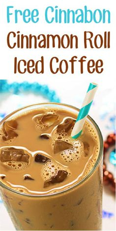 FREE Cinnabon Cinnamon Roll Iced Coffee on 6/7!!