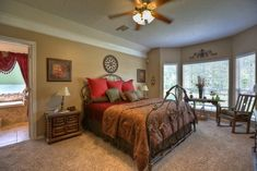 Master bedroom designs with carpet