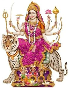 Maa Chandi is the total energy of the universe. By doing Chandi Homam once a year one can become free from evil eyes and get supremacy power to fulfill all desire. Lord Durga, Durga Ji, Navratri Puja, Maa Durga Image, Durga Images, Lakshmi Images, Krishna Images, Gayatri Devi, Kali Mata