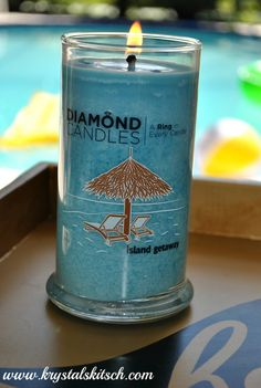 Diamond candles! I wanna get one! There is a ring in every candle worth 10, 100, 1000, or even $5000!