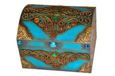 Apostila de pintura Decorativa Rose Menezes: Baú