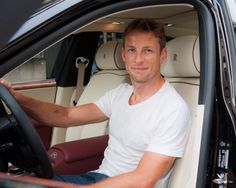 Jenson Button at a PR-event with Rolls Royce - 2014 Canadian GP