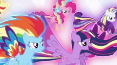 "MLP: FiM – Derrotando a Tirek - Rainbow Power! ""El Reino de Twilight"" [E..."