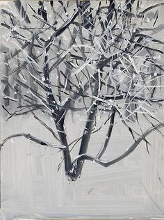 Alex Katz  Snow, 2004  Galleria Javier Lopez